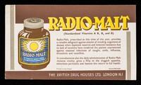 view Radio-Malt (standardised Vitamins A, B1, B2 and D).