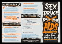 view Sex + drugs +AIDS : info for drug users / Coventry CDT.