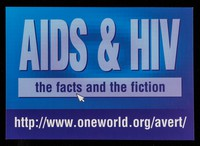 view AIDS & HIV : the facts and the fiction / AVERT.
