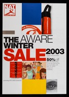 view The aware Winter sale 2003 : order now and save up to 50% off selected resources ...  / aNational AIDS Trust, promoting HIV & AIDS awareness.