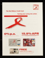 view The Red Ribbon credit card turning your caring into action : 0% p.a. on balance transfers for six months / MBNA International.