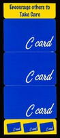 view Encourage others to Take Care : C-Card.