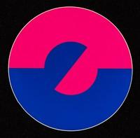 view [Taking Care campaign symbol circular sticker].