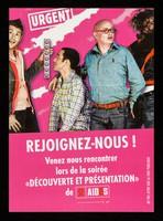 """view Urgent : rejoignez-nous : venez nous rencontrer lors de la soirée """"Découverte et présentation"""" / AIDES."""