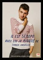view Il est séropo : avec lui je risque de tomber amoureux : préservatif, dépistage, traitement... c'est possible / Crips Île-de-France.
