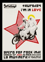 view Thursday I'm in love : apero pop rock inde chaque 1er jeudi du mois, 19h30/22h30 : La Mutinerie, 176 rue St. Martin ... / Popingays.