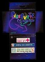 view Préservatif masculin / Sida Info Service, Mairie de Paris, Le 190 Centre de Santé Sexuelle.