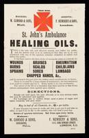 view St. John's Amblance Healing Oils.