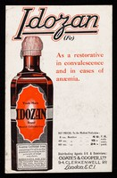 view Idozan (Fe) : as a restorative in convalescence and in cases of anaemia.