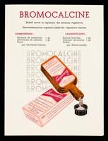 view Bromocalcine : sédatif nervin et régulateur des fonctions végétatives.