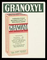 view Granoxyl : thérapeutique reconstituante et reminéralisante.