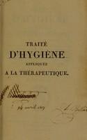 view Traité d'hygiène appliquée à la thérapeutique / Par J.B.G. Barbier.