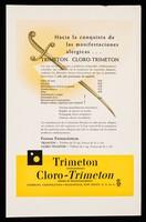 view Hacia la conquista de las manifestaciones alérgicas... : Trimeton, Cloro-Trimeton / Schering Corporation.