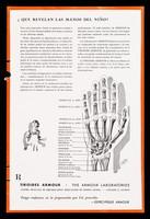 view Que revelan las manos del niño? ... : Absorción vitaminica / The Armour Laboratories.