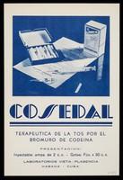 view Cosedal, terapeutica de la tos por el bromuro de codeina : Midasul tabletas de sulfanilamida ... / Laboratorios Vieta-Plasencia, S.A.