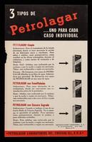 view 3 tipos de Petrolagar : una para cada caso individual ... Petrolagar es más que un lubricante / Petrolagar Laboratories, Inc.