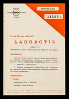 view Neuroplagico Largactil : lo que hay que saber del: Largactil ... / marcas Rhône Poulenc Specia.