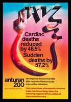 view Cardiac deaths reduced by 48.5% : sudden deaths by 57.2% : Anturan 200.