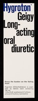 view Hygroton Geigy : long-acting oral diuretic.