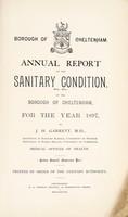 view [Report 1897] / Medical Officer of Health, Cheltenham Borough.