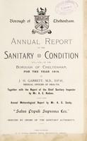 view [Report 1914] / Medical Officer of Health, Cheltenham Borough.