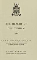 view [Report 1962] / Medical Officer of Health, Cheltenham Borough.
