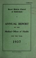 view [Report 1937] / Medical Officer of Health, Cheltenham (Union) R.D.C.