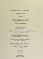 view [Report 1969] / Medical Officer of Health, Cheltenham (Union) R.D.C.