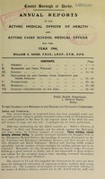 view [Report 1944] / Medical Officer of Health, Derby County Borough.