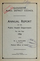 view [Report 1956] / Medical Officer of Health, Gloucester R.D.C.