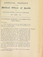 view [Report 1897] / Medical Officer of Health, Godstone R.D.C.