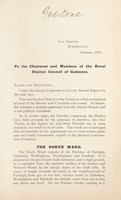 view [Report 1911] / Medical Officer of Health, Godstone R.D.C.