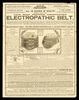 view All in search of health should wear the Pall Mall Electric Association's Electropathic Belt.