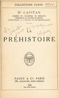 view La préhistoire / Dr Capitan.