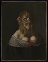 view Barbara van Beck. Oil painting, ca. 1650.