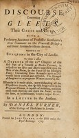 view A discourse concerning fevers. In two letters to a young physician ... / [Daniel Turner].