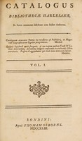 view Catalogus bibliothecae Harleianae in locos communes distributus cum indice auctorum / [Compiled by S. Johnson, M. Maittaire, and W. Oldys].