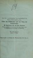 view Ueber den Stoffwechsel und das Coma der Krebskranken : mit Bemerkungen über das Coma diabeticum / von G. Klemperer.