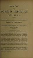 view Les tumeurs malignes primitives de la trompe utérine. Anatomie pathologique / par Louis Danel.