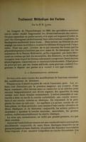 view Le traitement méthodique des varices : communication au 3e Congrès de Physiothérapie des Médecins de langue française / par E. Lanel.