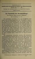view Zur Geschichte der Herzdarstellung / von Werner Nebel-Neustadt.