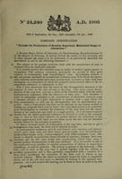 view Process for production of readily resorbent medicated soaps or ointments / [Rudolf Reiss].