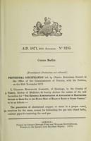 view Specification of Charles Bodenham Garrett : ozone baths.