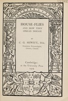view House-flies and how they spread disease / by C.G. Hewitt.