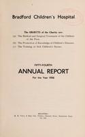 view Annual report : 1936 / Bradford Children's Hospital.